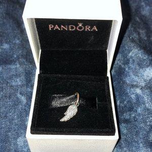 Jared Pandora Angel Wing charm